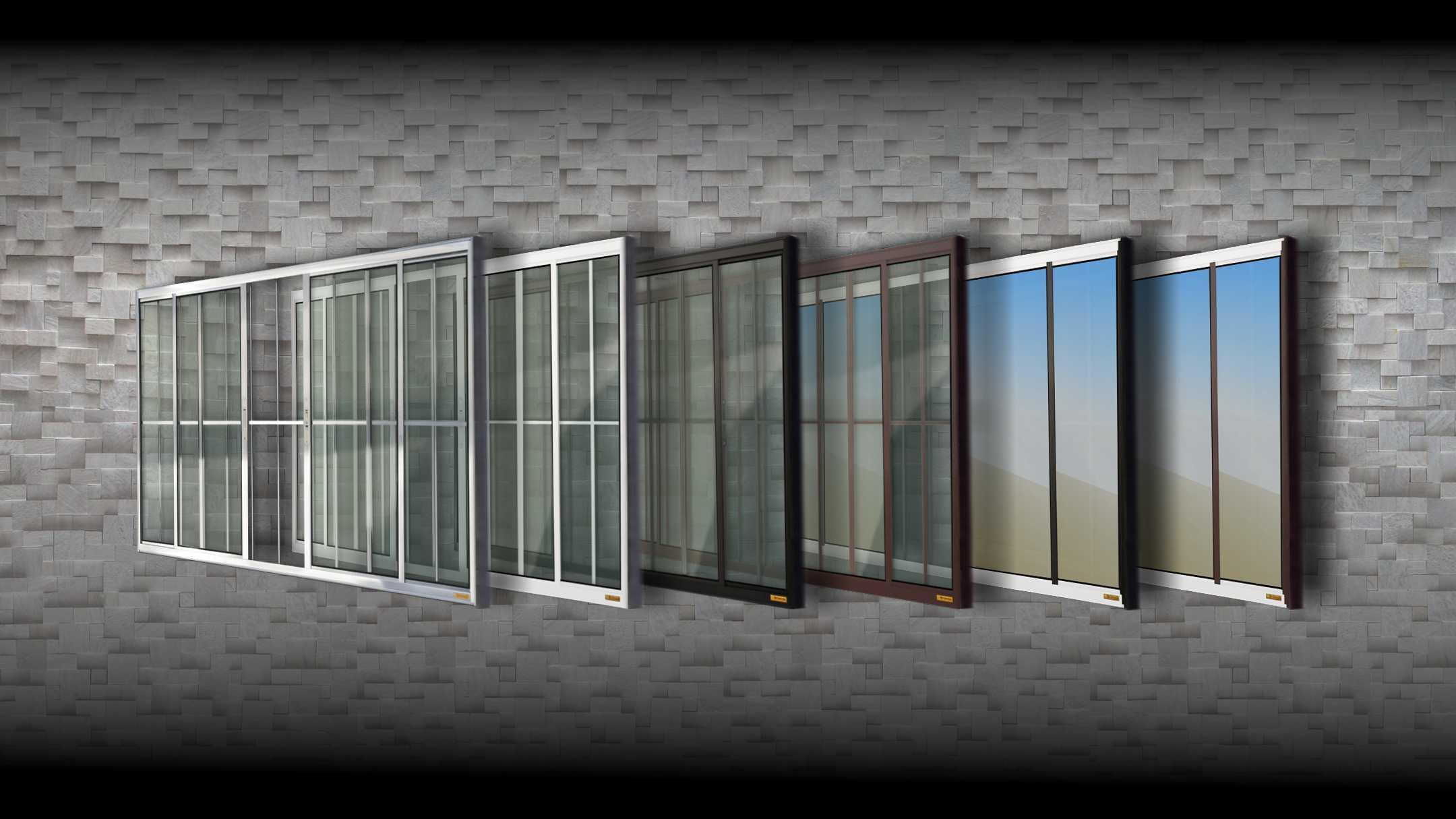 #61636A Portas e Janelas BRIMAK Todas as Portas e Janelas que Fabricamos 860 Maquina De Fabricar Janela De Aluminio