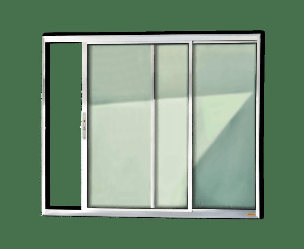 #5D6E5D Janelas de Alumínio da Linha Confort BRIMAK Portas e Janelas 1274 Preço De Janela De Aluminio 4 Folhas