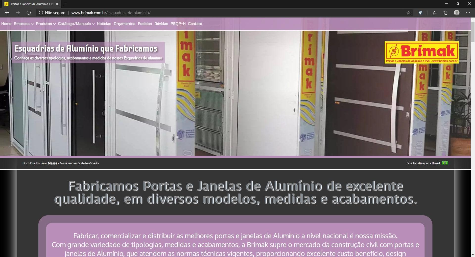 #C7BB04 Fabrica De Janelas De Aluminio Rj Pictures to pin on Pinterest 826 Loja De Janelas De Aluminio Em Guarulhos